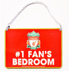 Liverpool - No 1 Fan Bedroom Sign Cover