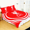 Liverpool - Club Crest Pulse Reversable Duvet Set (Double) Cover