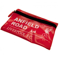 """Liverpool - Club Crest & """"ANFIELD Road L4""""  Street Sign Flat Pencil Case - Cover"""