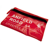 "Liverpool - Club Crest & ""ANFIELD Road L4""  Street Sign Flat Pencil Case Cover"