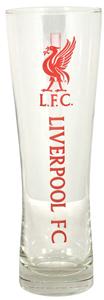 Liverpool - Wordmark Club Crest Peroni Pint Glass - Cover
