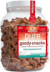 MeraDog - Pure Goody Snacks - Turkey & Rice (600g) - Cover