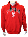 Liverpool - Red Club Crest Mens Hoody (X-Large)