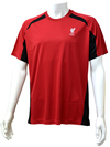 Liverpool - Club Crest Red Panel Mens T-Shirt (XX-Large)