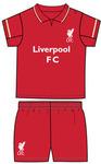 Liverpool - Club Crest Shirt & Shorts Set (12/18 Months)
