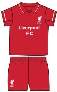 Liverpool - Club Crest Shirt & Shorts Set (6/9 Months) - Cover