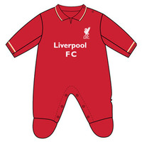 Liverpool - Club Crest & Logo Sleepsuit (0/3 Months) - Cover