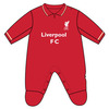 Liverpool - Club Crest & Logo Sleepsuit (0/3 Months)