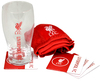 Liverpool - Wordmark Club Crest Mini Bar Set