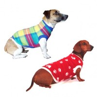 MCP - Polar Fleece Dog Jersey - Assorted (Size: 4L) - Cover