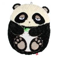 GiGwi - Panda Snoozy Friendz Plush Cat Cushion (Black and White) - Cover