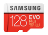 Samsung - EVO Plus MB-MC128G 128GB MicroSDXC UHS-I Class 10 Memory Card