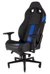 Corsair - T2 Road Warrior Gaming Chair - Black/Blue