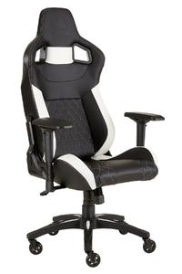Corsair - T1 Race Gaming Chair 2018 - Black/White - Cover