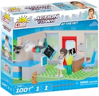 Cobi - Action Town - At the Vet (100 Pieces) - Cover