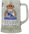 "Real Madrid - Club Crest & Text ""FCB 1902"" Beer Tankard"