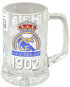 "Real Madrid - Club Crest & Text ""FCB 1902"" Beer Tankard (Medium)"