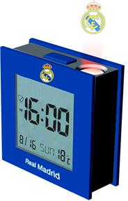 Real Madrid - Club Crest Digital Projector Alarm Clock - Cover
