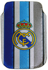 Real Madrid - Club Crest Stripe Smartphone Pouch Cover