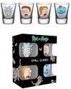 Rick And Morty - Shot Glasses (Pack of 4)