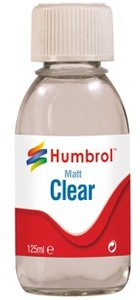 Humbrol - 125ml Clear Matt Varnish - Cover