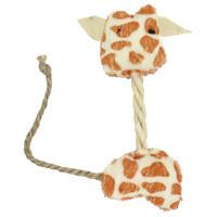 MCP - 12cm Giraffe Rope Cat Toy (White and Brown)