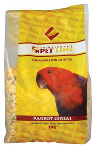 Animalzone - Parrot Cereal (25kg) - Cover