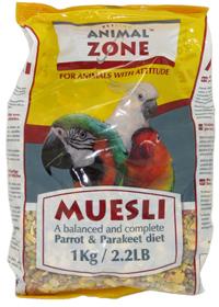 Animalzone - Parrot/Parakeet Muesli (25kg) - Cover