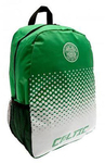 "Celtic - Club Crest & Text ""CELTIC"" Fade Design Backpack"