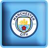 Manchester City - Club Crest Square Cushion