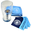 Manchester City - Wordmark Club Crest Mini Bar Set Cover