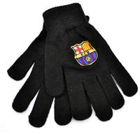 FC Barcelona - Black Knitted Gloves - Cover