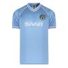 Manchester City - 1982 Retro Mens Sky Blue Shirt (X-Large)