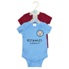 Manchester City - Club Crest & Logo Bodysuit 17/18 (12/18 Months)