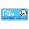 "Manchester City - Club Crest & ""ETIHAD STADIUM"" Colour Street Sign"