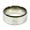 Manchester City - Club Crest Band Ring (Small)