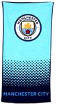 Manchester City - Fade Beach Towel Cover