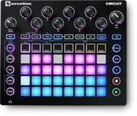 Novation Circuit Sequencer Synth and Sampler (Black)