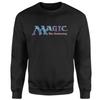Magic The Gathering - 93 Vintage Logo Men's Black Sweatshirt (Medium)