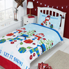 Let It Snow Christmas Duvet Set (Single)