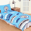 Manchester City - Patch Duvet Set (Single)