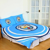 Manchester City - Reversible Pulse Duvet Set (Double)