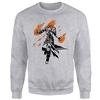 Magic The Gathering - Chandra Character Art Men's Grey Sweatshirt (X-Large)