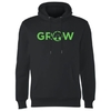 Magic The Gathering - Grow Men's Black Hoodie (XX-Large)