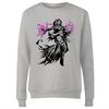 Magic The Gathering - Liliana Character Art Women's Grey Sweatshirt (Medium)