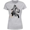 Magic The Gathering - Gideon Character Art Women's Grey T-Shirt (Small)