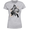 Magic The Gathering - Gideon Character Art Women's Grey T-Shirt (Large)