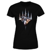 Magic The Gathering - Key Art With Logo Women's Black T-Shirt (Large)