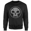 Magic The Gathering - Black Mana Men's Black Sweatshirt (Large)