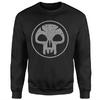 Magic The Gathering - Black Mana Men's Black Sweatshirt (XX-Large) Cover